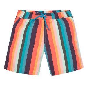 Paul Smith Junior Colourful Striped 'Avento' Swim Shorts