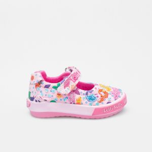 Lelli Kelly LK5008 Pink Fantasy Mermaid Baby Dolly Shoes