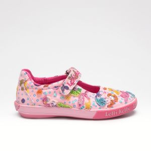 Lelli Kelly LK5058 Pink Fantasy Mermaid Dolly Shoes