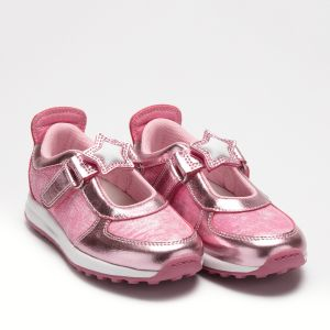 Lelli Kelly Girl's Glitter Rosa Colorissima Dolly Trainer Shoes