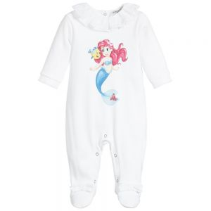 Monnalisa Bebé Girls Cotton Disney Babysuit
