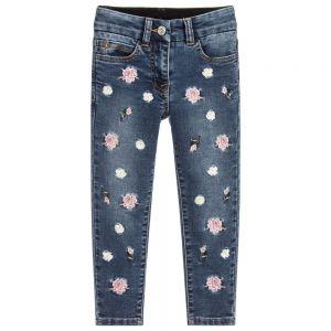 MONNALISA Girls Denim Jog Jeans