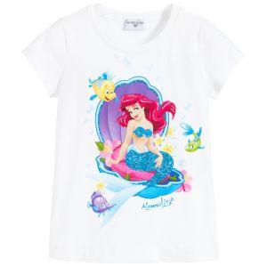 Monnalisa Girls White Disney T-Shirt