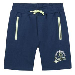 3Pommes Boys Blue Cotton Shorts