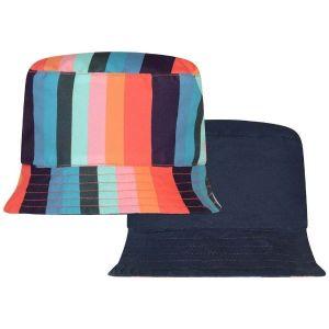Paul Smith Junior Reversible Signature Stripe Hat