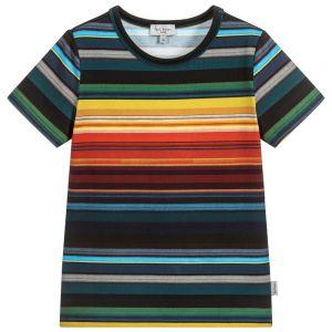 PAUL SMITH JUNIOR Boys Cotton SETH T-Shirt