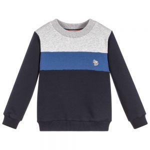 PAUL SMITH JUNIOR Boys SANTANA Cotton Sweatshirt