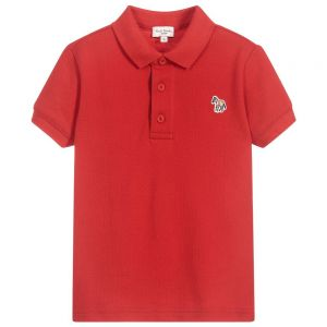 PAUL SMITH JUNIOR Red RIDLEY PER Polo Shirt