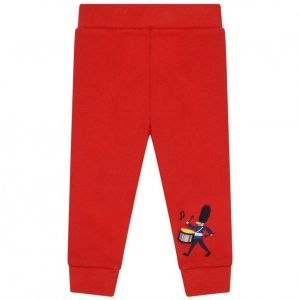 Paul Smith Junior Boys Red Cotton Soldier Joggers