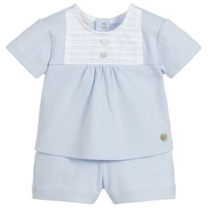 Paz Rodriguez Baby Boys Top & Shorts Set