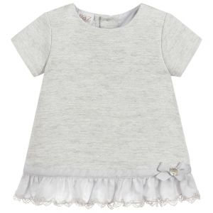 Paz Rodriguez Baby Girls Grey Dress Se