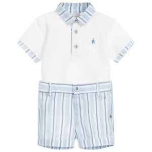 Paz Rodriguez Boy's Top And Shorts Set