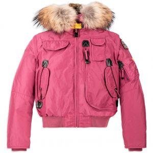 PARAJUMPERS Girl's Raspberry Maroon GOBI Down Padded Jacket