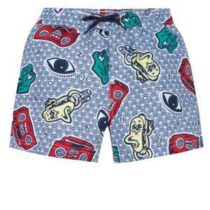 Kenzo Kids Boys Stereo Print Swim Shorts