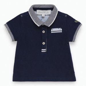 Tartine et Chocolat Boy's Navy Polo Shirt