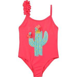 Billieblush Girls Pink Cactus Swimsuit