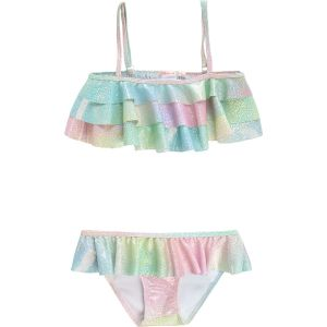 Billieblush Blue Shimmery Mermaid Bikini