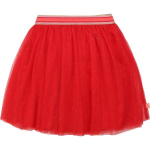 Billieblush Girls Red Tulle Skirt