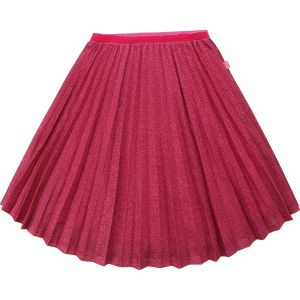 Billieblush Pink Glitter Pleated Skirt