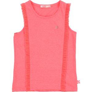 Billieblush Girls Bright Pink Sleeveless Vest T-Shirt