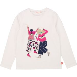 Billieblush Ivory Polycotton Dancers Top