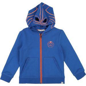 BILLYBANDIT Boys Mask Hood Royal Blue Cotton Top