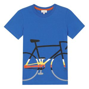 Paul Smith Junior Boys Blue 'Alen' Cotton T-Shirt