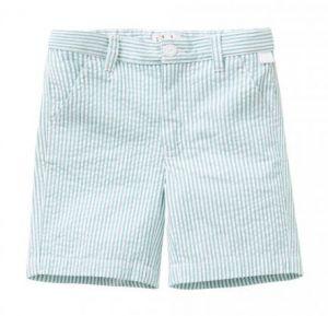 IL Gufo Boy's Striped Bermuda Shorts