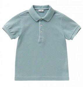 IL Gufo Boy's Sea Green Polo Shirt