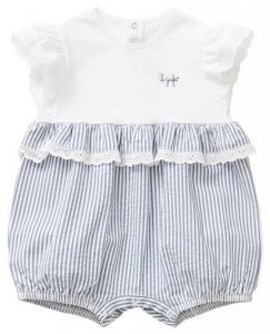 IL Gufo Baby Girl's Cotton Shortie