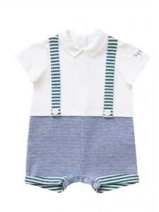 IL Gufo Baby Boy's Oxford Shortie