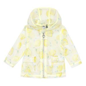 3Pommes Water Resistant Lemon Raincoat