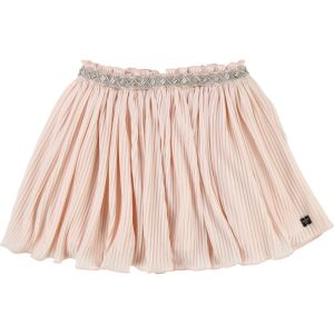 CARRÉMENT BEAU Girl's Pink Sparkle Pleated Skirt