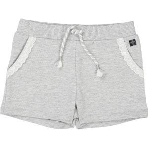Carrément Beau Girls Grey Jersey Shorts