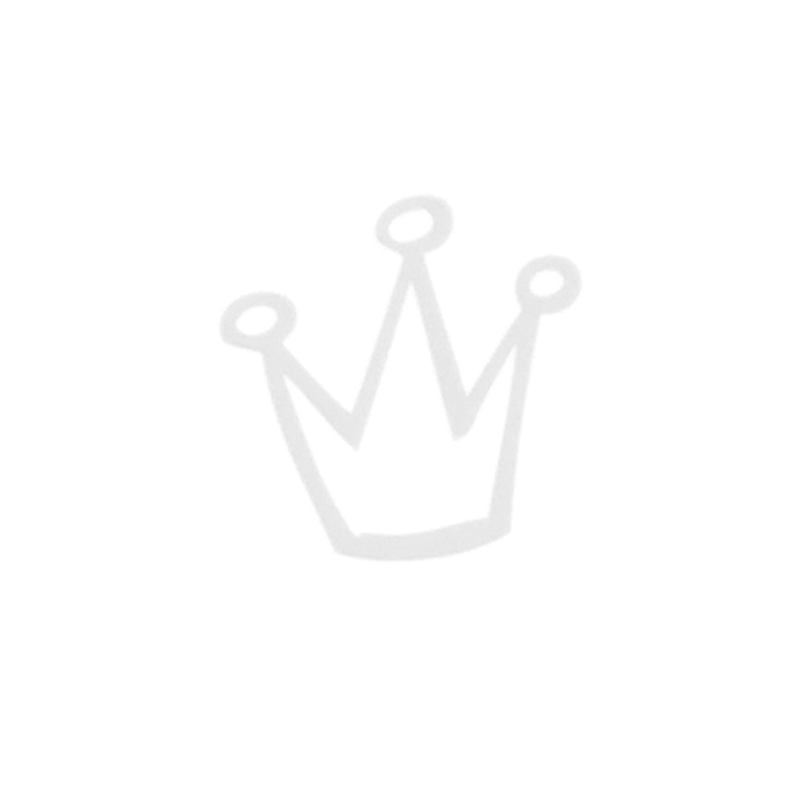 Monnalisa Chic Ivory & Blue Cotton T-Shirt